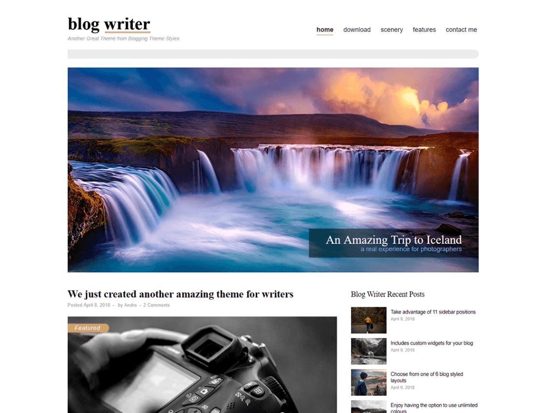 Blog Writer