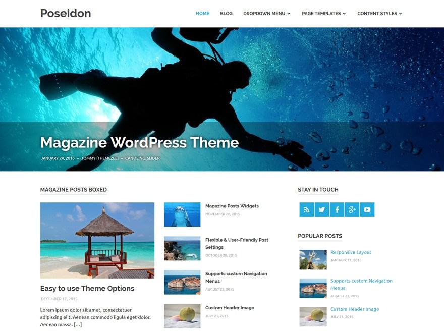 Best Free Magazine WordPress Themes 2019 - Theme Freesia