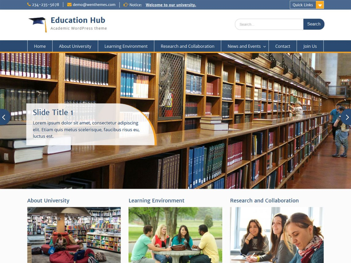 Educational Hub
