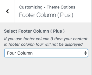 Footer Column (Plus)