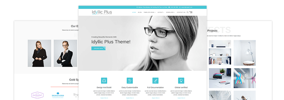 Idyllic Plus Themes