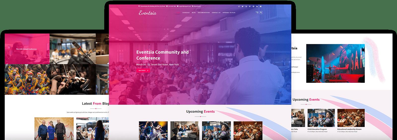 Latest Event WordPress Theme